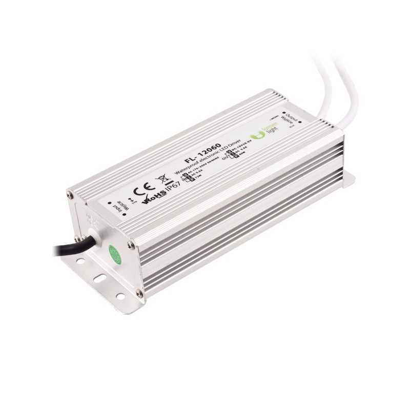 Transformador led 12 voltios 60w ip65 - Transformador led 12v ...