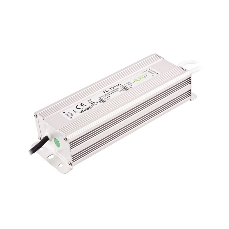 Transformador led 12v 100w ar - Transformador para led ...