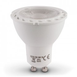 BOMBILLA LED DICROICA GU10 7W COB 40º 550- 600lm