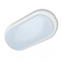 PLAFÓN LED OVALADO 10W IP44