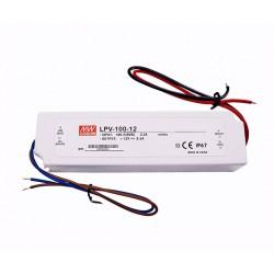 MEAN WELL LPV-100-12 IP 67 para tira o modulo led