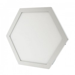 Plafon LED Hexagonal 10W