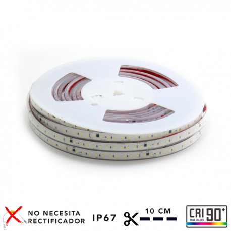 TIRA LED 220V IP65 ROLLO 20m CORTE CADA 10CM