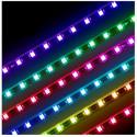 PACK TIRA RGB 5m 60 LEDS X METRO 24v CON CONTROLADOR RF