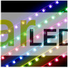 TIRA LED 5050 GAMA MEDIA 60 LEDS X METRO 12V COLOR ROJO