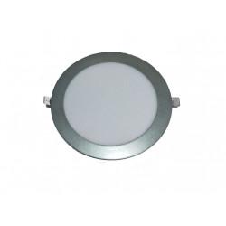 DOWNLIGHT LED SMD 18W GRIS PLATEADO