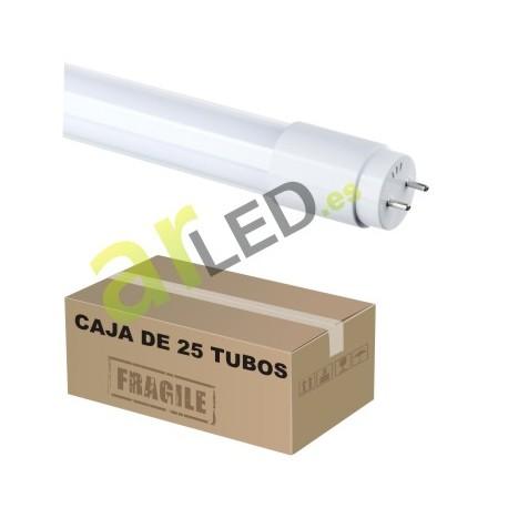 TUBO LED 60CM 9W 300º PACK DE 25UNI