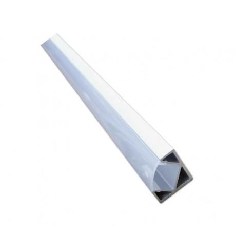 PERFIL TIRA LED 45º 2 Metro