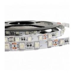 TIRA LED 5050 ECO 60 LEDS X METRO 12V ROJO