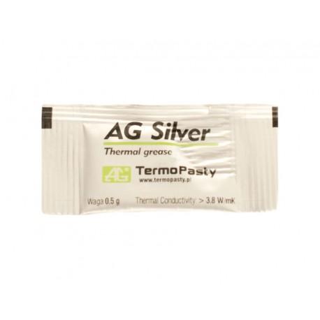 Pasta termica con plata