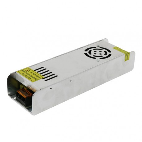TRANSFORMADOR FINO TIRA LED 24V DE 360W IP20 Alt
