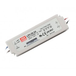 TRANSFORMADOR LED MEAN WELL LPV -35-24V