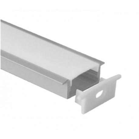 PERFIL PARA EMPOTRAR TIRA LED, ANCHO 20mm